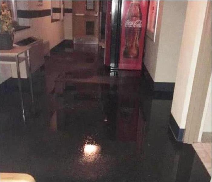 Commercial Water Damage – Bartow  Before