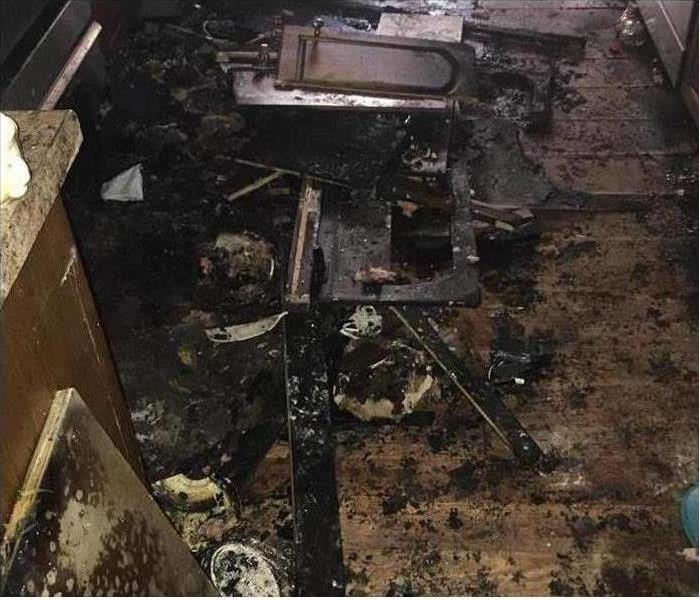 Fire Damage – Bartow Kitchen