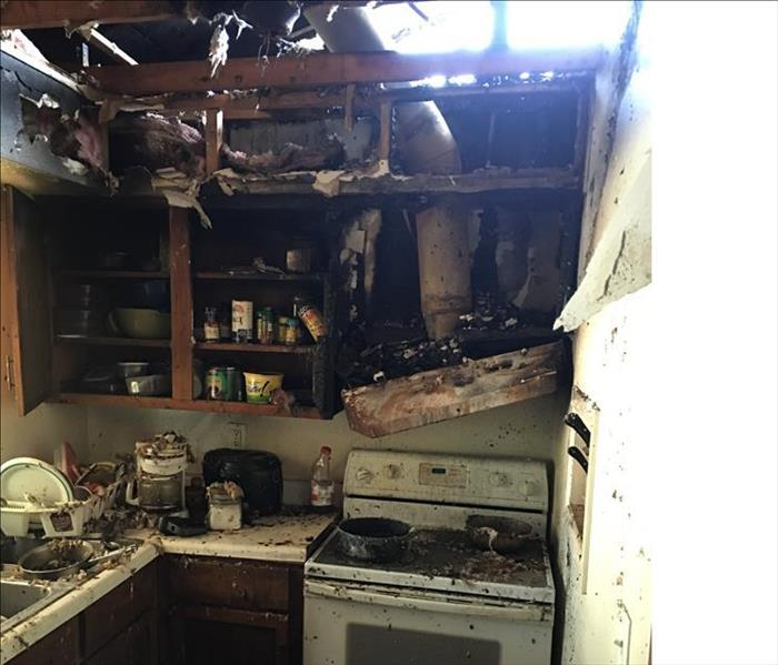 Fire Damage SERVPRO Bartow/Lakeland Highlands 24 Hour Emergency Water Damage Service
