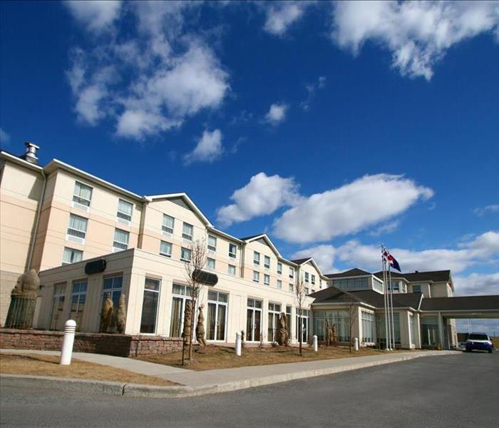 Commercial Professional Water Removal Services For Your Highland Area Hotel